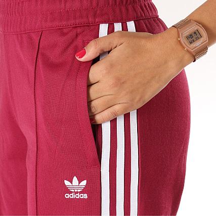 Home   adidas   Joggings   Pantalons Joggings   adidas - Pantalon Jogging  Femme BB DH3191 Bordeaux 951711ff05b