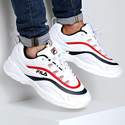 Fila Baskets Ray Low 1010561 150 White Navy Red