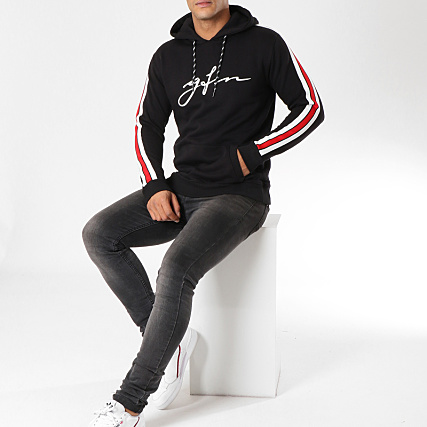 Noir Capuche Rouge Speed Sweat For Bandes Jersey Good Avec Nothing taq4Oxn8