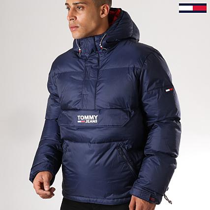 magasin en ligne 37bdc f7740 Tommy Hilfiger Jeans - Doudoune Padded Popover 5015 Bleu ...