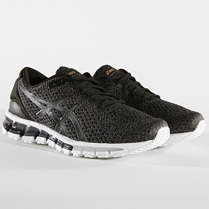 reputable site b202c 25c00 Asics - Baskets Gel Quantum 360 Knit 2 T8G3N 9097 Black ...