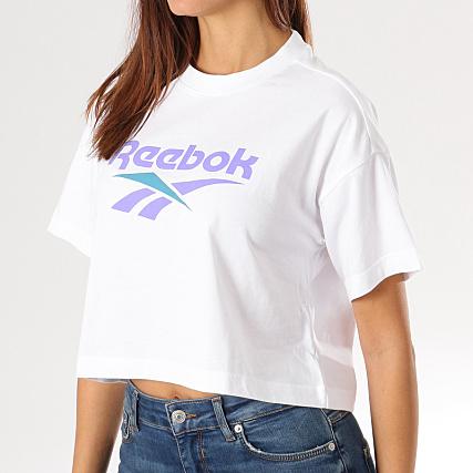 reebok femme tee blanc shirt photo Ibfgy6vY7