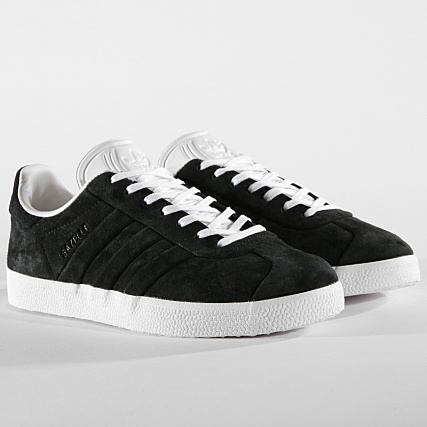 reputable site c0059 047f5 Home  adidas  Baskets - Chaussures  Baskets Basses  adidas - Baskets Gazelle  Stitch And Turn CQ2358 Core Black Footwear White