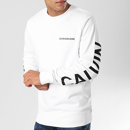 100% top quality genuine shoes best shoes Calvin Klein - Sweat Crewneck Institutional Rubber Box 0334 ...