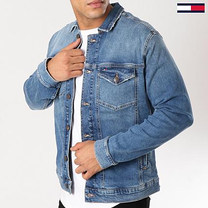 obtenir pas cher meilleure vente rechercher le dernier Tommy Hilfiger Jeans - Veste Jean Trucker 5790 Bleu Denim ...