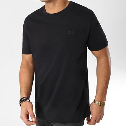 HUGO By Hugo Boss - Tee Shirt Dero 50378595 Noir - LaBoutiqueOfficielle.com 0e5e342ee2e