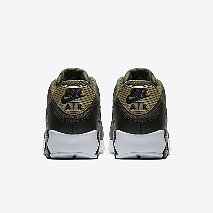 brand new 94e1a 4a993 Home   Nike   Baskets - Chaussures   Baskets Basses   Nike - Baskets Air  Max 90 Essential AJ1285 201 Medium Olive Black Sequoia