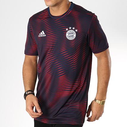 a1209f152 adidas - Tee Shirt De Sport FC Bayern München DP3688 Bleu Marine Rouge -  LaBoutiqueOfficielle.com