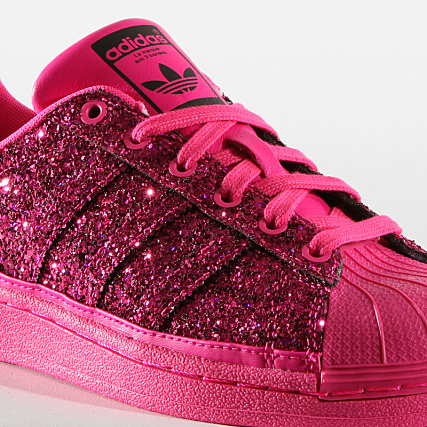adidas Baskets Femme Superstar BD8054 Shock Pink Core