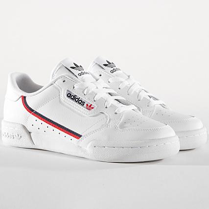 Scarlet Continental White 80 Footwear Adidas Femme Baskets F99787 Ac3RL54jq