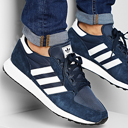 adidas Baskets Forest Grove CG5675 Core Navy Clo White