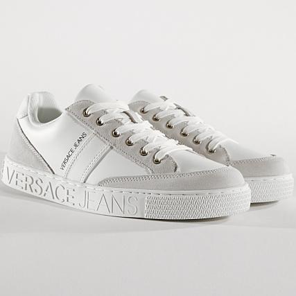 Versace Jeans - Baskets Linea Cassetta Pers Dis 3 E0YTBSF3-70744 White -  LaBoutiqueOfficielle.com b7e95c465c7
