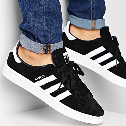 adidas Baskets Campus BZ0084 Core Black Footwear White