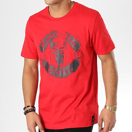 Dp2332 Rouge Tee Adidas United Shirt Manchester zpMVSU