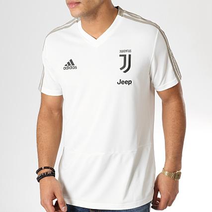 ca3363e9c adidas - Tee Shirt Juventus DP3821 Vert Clair - LaBoutiqueOfficielle.com