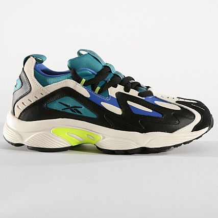 0ed2d94f17f Home > Reebok > Baskets - Chaussures > Baskets Basses > Reebok - Baskets DMX  Series 1200 Leather DV7540 Mineral Mist Clear White Lime