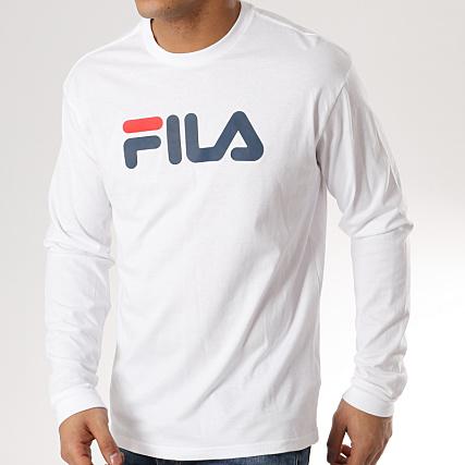 Fila CLASSIC LOGO LONG SLEEVE T shirt à manches longues