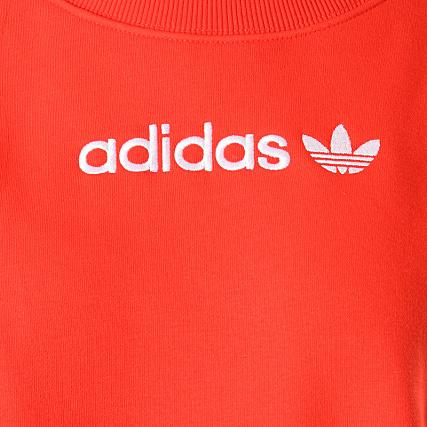 Home   adidas   Sweats - Pulls   Sweats Col Rond - Crewneck   adidas - Sweat  Crewneck Femme Coeeze DU7192 Rouge 2e7963d9895