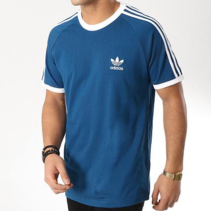 offer discounts competitive price website for discount adidas - Tee Shirt 3 Stripes DV1564 Bleu Ciel Blanc ...