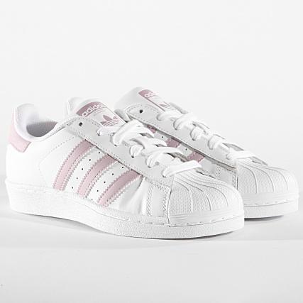 Femme Superstar Db3347 White Vision Footwear Baskets Adidas Soft mNnw8yv0O