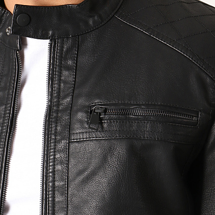 Only and Sons Veste Biker Al Noir