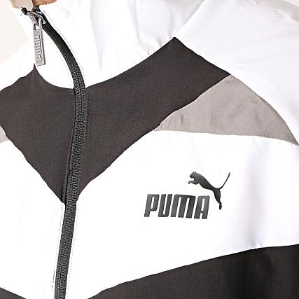 Puma Ensemble De Survêtement Iconic 851564 Noir Blanc