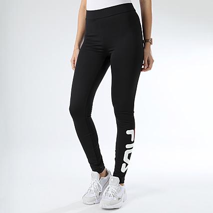 681826 2 Flex Fila Mujer Negro Leggings qSUzpjLGVM