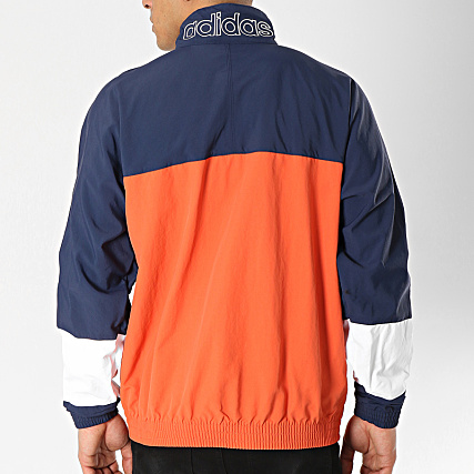Vent Bleu Coupe DV3117 Orange Warm Up adidas Blocked CWdoQerxB