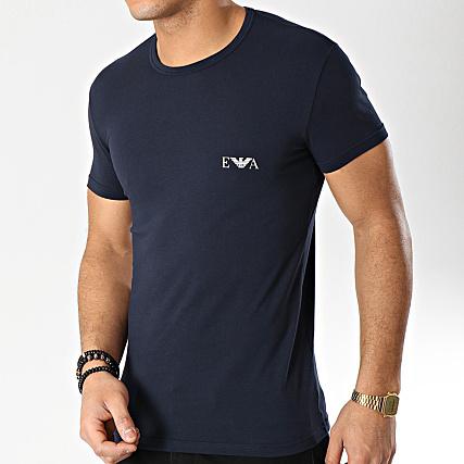 Emporio Bleu Lot De Rouge 2 111670 9p715 Tee Shirts Armani Marine kiwOPXuZT