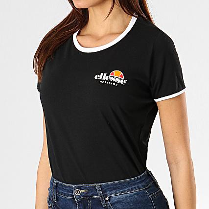 Uni Femme Noir Tee 1074n 1t3kjclf Ellesse Shirt dQshCxBrt