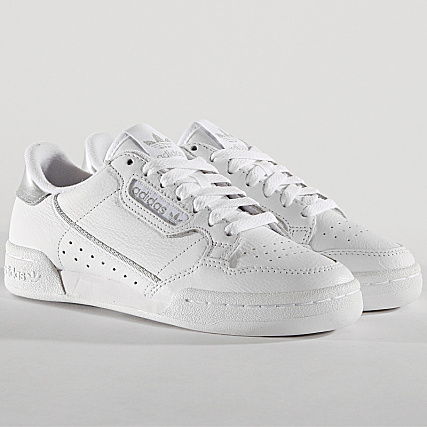 adidas - Baskets Continental 80 EE8925 Footwear White Silver ...