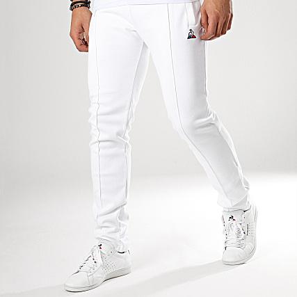 ever popular classic fit premium selection Le Coq Sportif - Pantalon Jogging Tricolore N1 1821918 Blanc ...