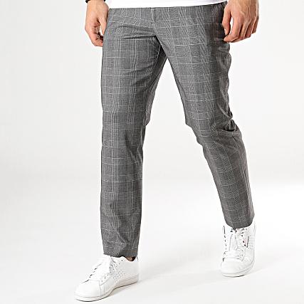 Pantalon A Carreaux Nochecks Gris Celio K1cuTFl35J