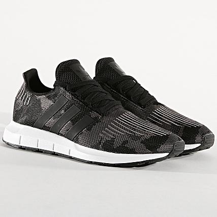 save off cf815 144c2 adidas - Baskets Swift Run BD7977 Core Black Footwear White -  LaBoutiqueOfficielle.com