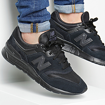 basket new balance cuir homme