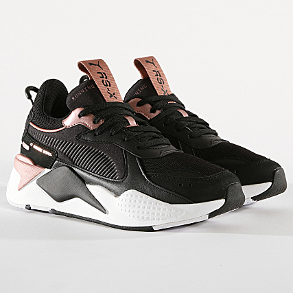 Puma Baskets Femme RS X Trophy 369451 04 Black Rose Gold