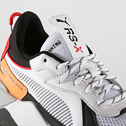 bf2557ab10cc8a Home   Puma   Baskets - Chaussures   Baskets Basses   Puma - Baskets RS-X  Tracks 369332 02 White Black