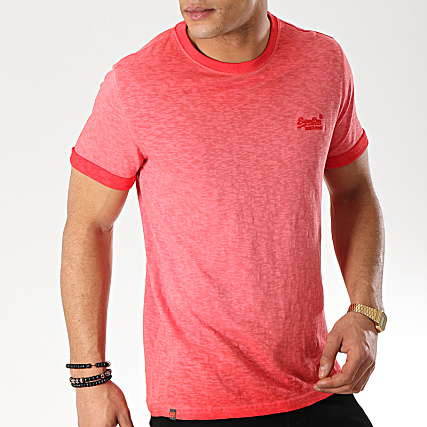 Shirt Roller Rouge Low Tee Superdry kTuPXZiO