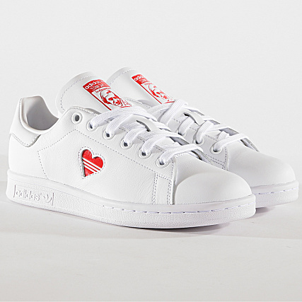 adidas - Baskets Femme Stan Smith G27893 Footwear White ...