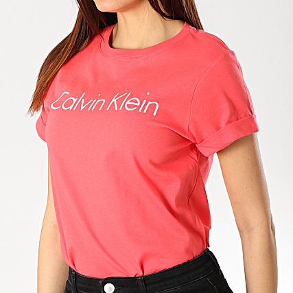 Calvin Klein Tee Rouge Femme 0qs5789e Shirt gy7bf6Y