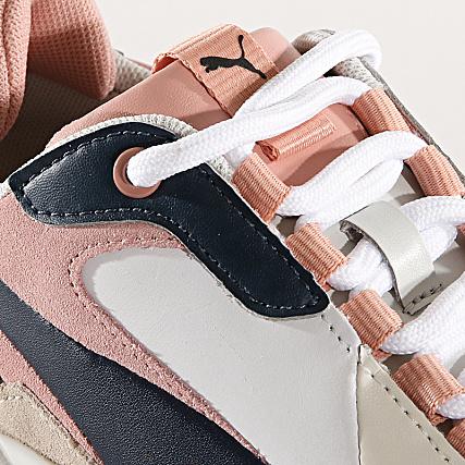 Home   Puma   Baskets - Chaussures   Baskets Basses   Puma - Baskets Femme Thunder  Rive Gauche 369453 02 Dress Blue Peach Beige 886d277475c
