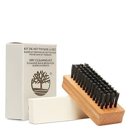 Timberland Footwear Dry Cleaning Kit Gomme et brosse à nubuck