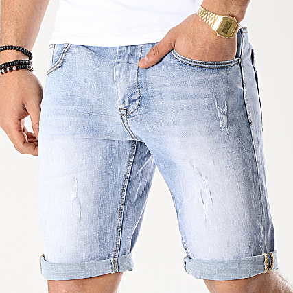 Jean Frilivin Short Slim Jd Bleu 9933 Denim Ybf6ygv7