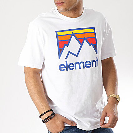 Element - Tee Shirt Link Blanc - LaBoutiqueOfficielle.