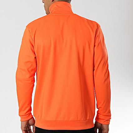 A Beckenbauer Dz4574 De Fluo Sport Veste Adidas Orange Bandes eW9H2YEID