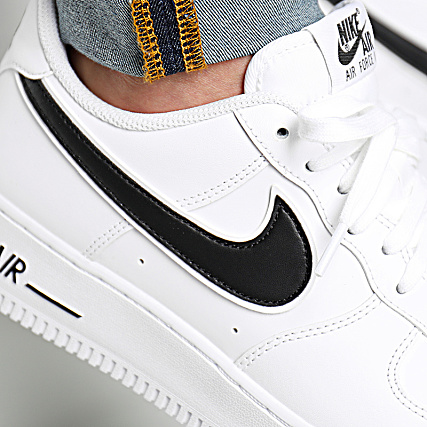 buy online b4639 f132e Home   Nike   Baskets - Chaussures   Baskets Basses   Nike - Baskets Air  Force 1  07 3 AO2423 101 White Black