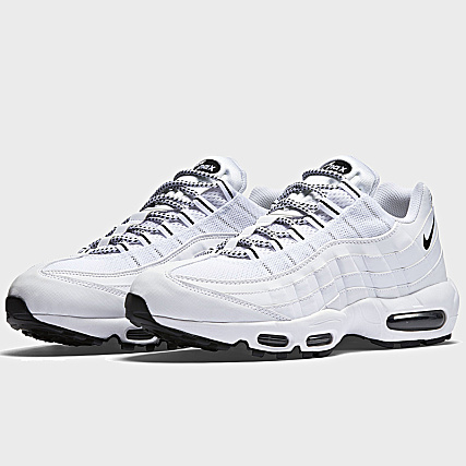 info for bad38 d0024 Nike - Baskets Air Max 95 609048 109 White Black - LaBoutiqueOfficielle.com