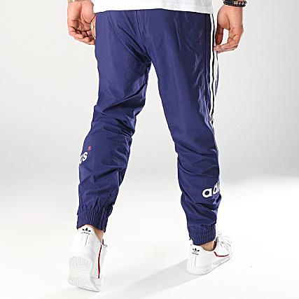 adidas Pantalon Jogging A Bandes Arc FH7903 Bleu Marine
