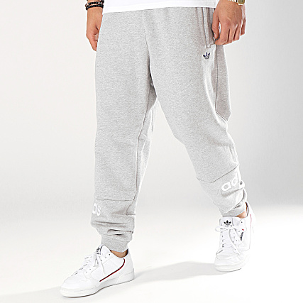 adidas Pantalon Jogging Arc FH7917 Gris Chiné