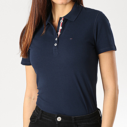 Tommy Hilfiger Jeans Polo Manches Courtes Femme Original